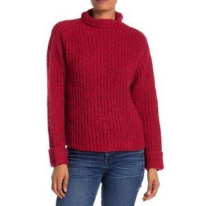 Abound Tango Mock Neck Cozy Knit Long Sleeves